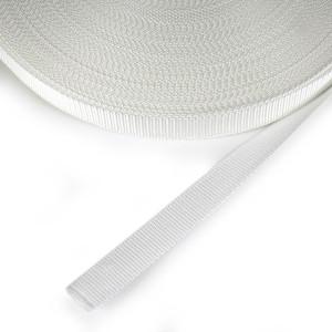 "Polypropylene Webbing - 25mm (1"") White"
