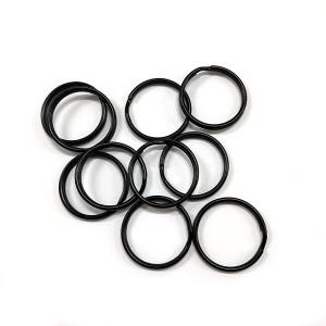 """Split Rings 25mm (1"""") / Black 10pk"""