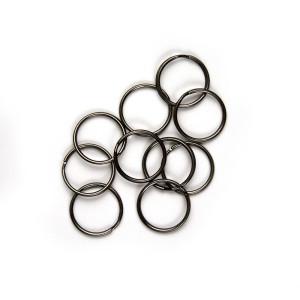 "Split Rings 25mm (1"") / Gunmetal 10pk"