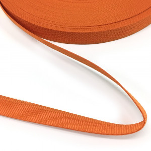 "Polypropylene Webbing - 25mm (1"") Orange"