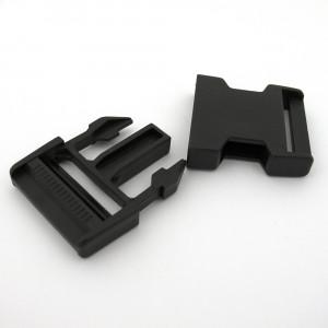 Voodoo Bag Hardware Plastic Side Release Buckle 40mm (1-1/2) Black - 2pk