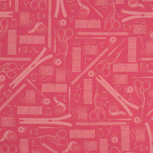 Crafters Gonna Craft Tonal Craft Pink by Windham Fabric