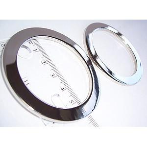 "Voodoo Bag Hardware Flat O-Rings 52mm  (2"") Silver - 2pk"
