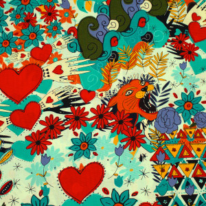 Infatuation Turquoise by Alexander Henry