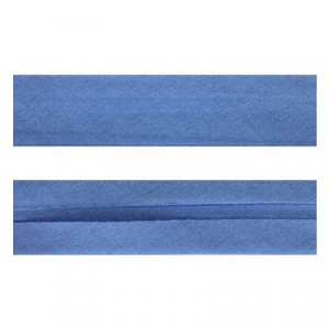 "25mm (1"") Single Fold 100% Cotton Bias Binding Sky Blue"