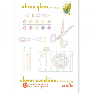 Clover Sunshine Embroidery Pattern Crafts by Alison Glass and Nydia Kehnle