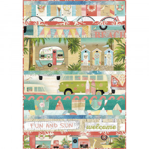 3 Wishes Fabric Beach Travel Quilt Kit