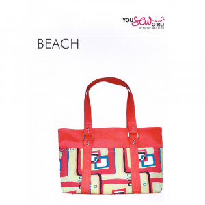 Beach Bag Pattern by You Sew Girl
