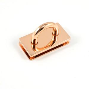 "Emmaline Bags Bridge Strap Connector 35mm (1-3/8"") wide Copper"