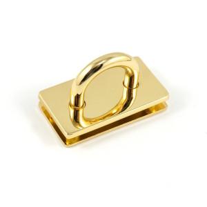"Emmaline Bags Bridge Strap Connector 35mm (1-3/8"") wide Gold"