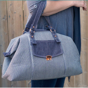 The Castell Day Bag Sewing Pattern by Emmaline Bags