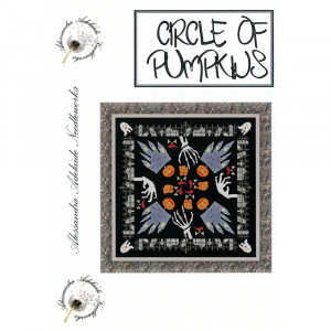 Circle of Pumpkins Cross Stitch Chart from Alessandra Adelaide Needlework