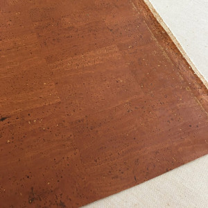 """Portuguese Surface Cork Cinnamon - Sizing from 70cm x 50cm (27-1/2"""" x 19-1/2"""")"""