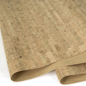 "Portuguese Natural Cork Fabric - Sizing from 70cm x 50cm (27-1/2"" x 19-1/2"")"