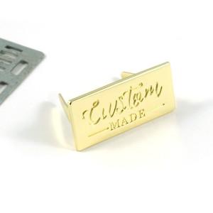 Emmaline Bags Metal Bag Label - Custom Made Gold