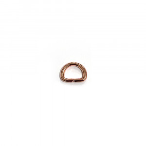 "Voodoo Bag Hardware D-Ring 12mm (1/2"") Copper - 4 pk"