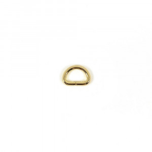 "Voodoo Bag Hardware D-Ring 12mm (1/2"") Gold - 4 pk"