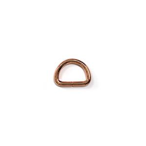 "Voodoo Bag Hardware D-Ring 20mm (3/4"") Copper - 4 pk"