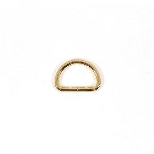"Voodoo Bag Hardware D-Ring 25mm (1"") Gold - 4 pk"