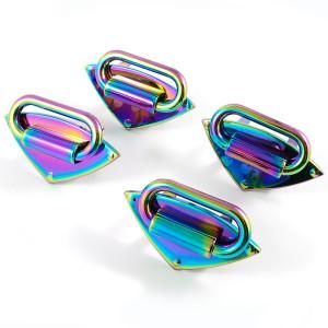 Emmaline Bags Strap Anchor Diamond Iridescent Rainbow - 4 pack