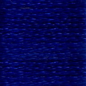 DMC Satin S820 Deep Royal Blue Embroidery Floss