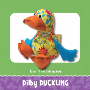 Dilby Duck Soft Toy Pattern by Funky Friends Factory