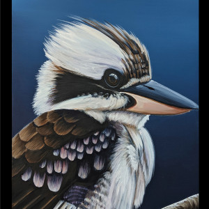 Chris Riley Collection 45cm Double Panel Kookaburra and Cockatoo by Devonstone Collection