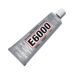 E6000 Adhesive Clear Industrial Strength Glue - 1oz (29.5ml) *NO EXPRESS OR INTERNATIONAL SHIPPING*