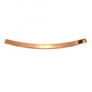 Emmaline Bags Metal Edge Trim: Style D - Curved Copper (Rose Gold)