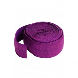 "byAnnie Fold-over Nylon elastic 20mm (3/4"") wide Tahiti Purple"