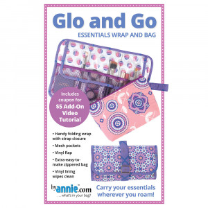 Glo and Go Make-up Bag and Wrap Sewing Pattern from byAnnie