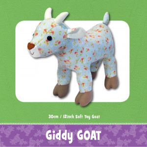 Giddy Goat Soft Toy Sewing Pattern by Funky Friends Factory