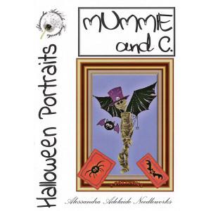 Halloween Portraits: Mummie & C. Cross Stitch Chart from Alessandra Adelaide Needlework