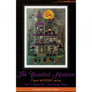 The Haunted Mansion Cross Stitch Chart by The Tiny Modernist