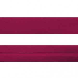 "12mm (1/2"") Single Fold 100% Cotton Bias Binding Hot Pink"