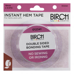 Birch Creative Instant Hem Tape 19mm x 4.57m