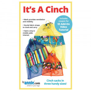 It's A Cinch Bag Sewing Pattern from byAnnie