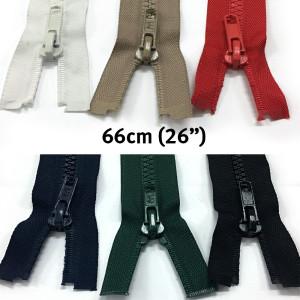 "Birch Chunky Open Ended Jacket Zipper (Size #5) 66cm (26"")"