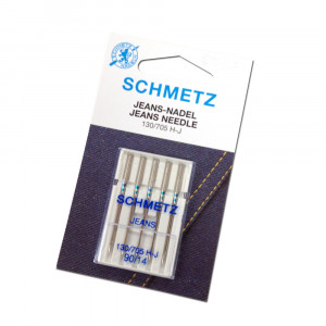 Schmetz Jeans Sewing Machine Needle 90/14