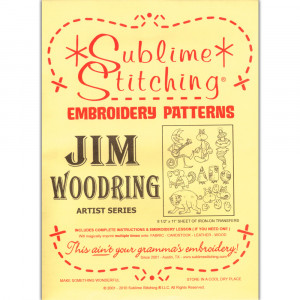 Jim Woodring Pattern