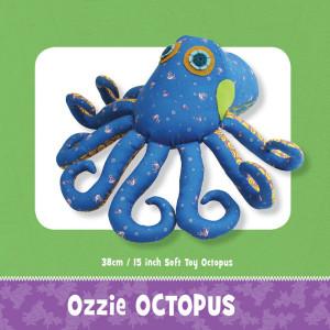 Ozzie Octopus Toy Pattern