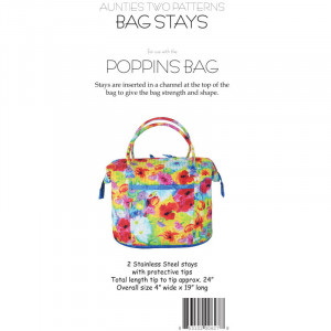 Aunties Two Poppins Bag Stays