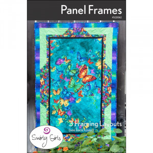Panel Frames Quilt Sewing Pattern by Swirly Girls Design
