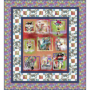 Party Animal Quilt Kit