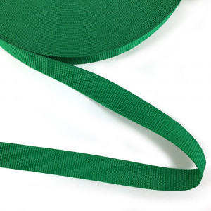 "Polypropylene Webbing - 25mm (1"") Emerald Green"
