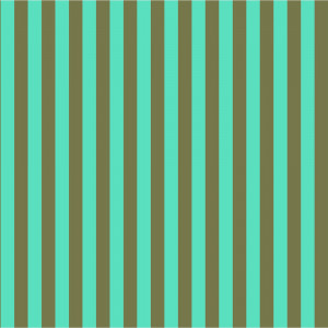 Tula Pink True Colors Tent Stripes Agave (Dark Green and Aqua) By Free Spirit Fabric