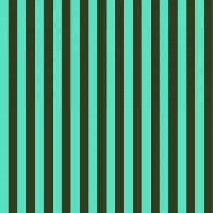 Tula Pink True Colors Tent Stripes Fern (Aqua and Dark Green) By Free Spirit Fabric