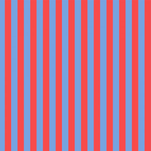 Tula Pink True Colors Tent Stripes Lupin (Red and Blue) By Free Spirit Fabric