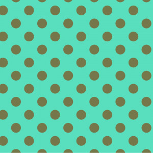 Tula Pink True Colors Pom Poms Agave (Green and Aqua) By Free Spirit Fabric