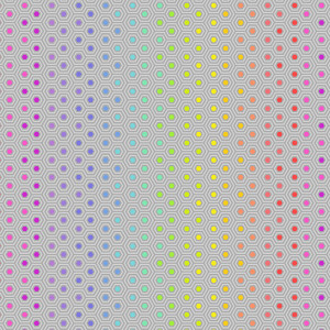 Tula Pink True Colors Hexy Rainbow Dove By Free Spirit Fabric